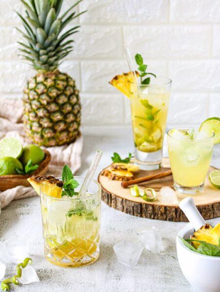 Limonada de Piña y jengibre